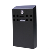 Askebæger Cigarett Bin - SQUARE Small - Sort