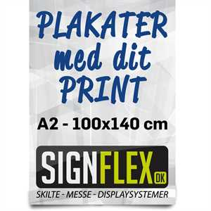 Plakater A1 - 59,4 X 84,1 cm
