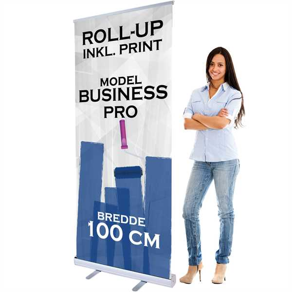 Business PRO Roll Up 100 cm bred inkl. banner